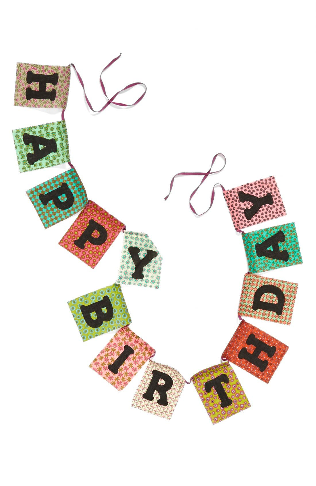 Alternate Image 1 Selected - Natural Life 'Happy Birthday' Garland