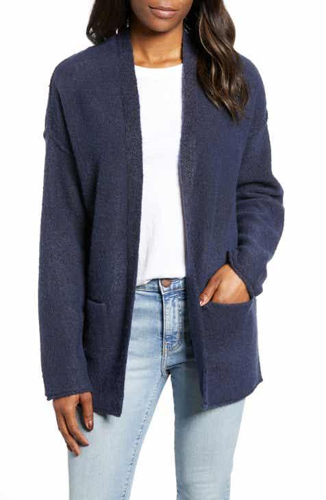 3e647aa22e Caslon® Dolman Sleeve Shimmer Cardigan (Regular   Petite)