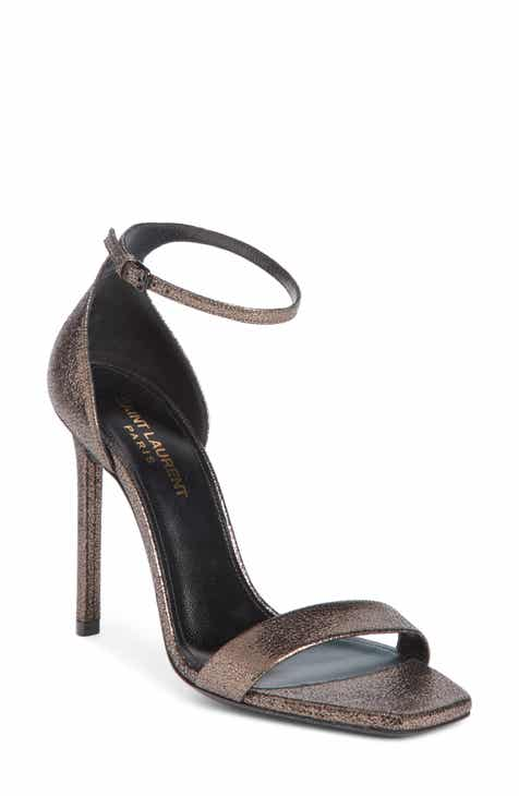 35090f16bb6 Saint Laurent Amber Ankle Strap Sandal (Women)