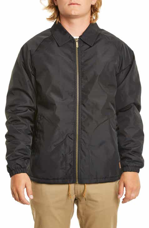 Brixton Claxton Water Repellent Jacket with Faux Shearling 3923a89fad3