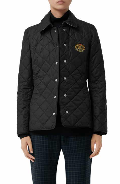 bb2da3f5e6bd Burberry Franwell Diamond Quilted Jacket