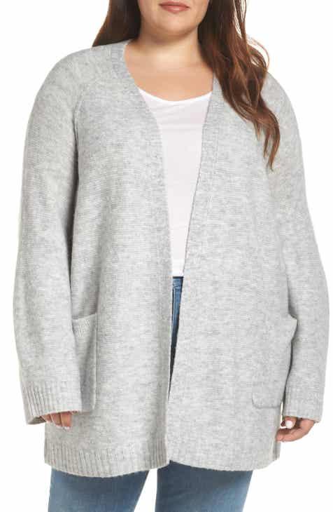71e9076dc1a Caslon® Chunky Stitch Cardigan (Plus Size)