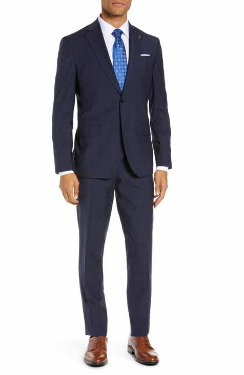 cc714fcd8 Ted Baker London Roger Slim Fit Solid Wool Suit