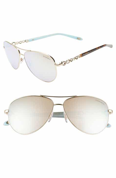 81a5aae95ed3 Tiffany   Co. 58mm Aviator Sunglasses