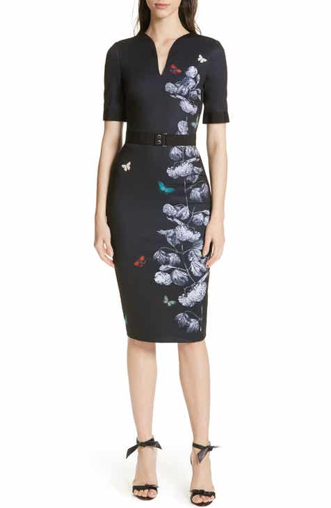 bcfd8fe54ef1c9 Ted Baker London Narrnia Body-Con Dress