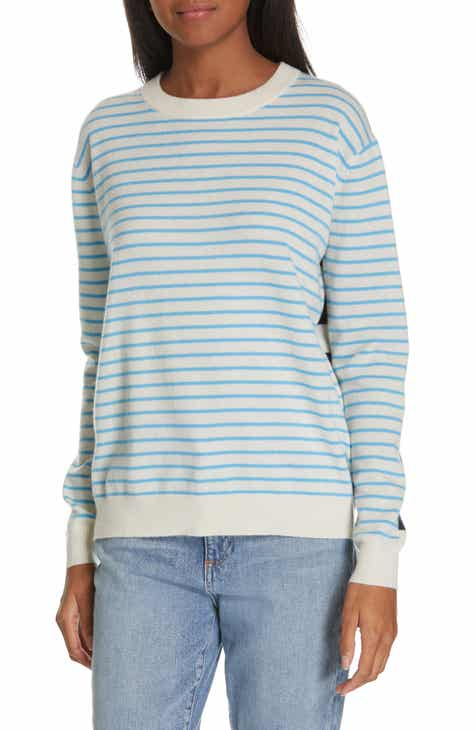 Nordstrom Signature Multi Stripe Cashmere Sweater by NORDSTROM SIGNATURE