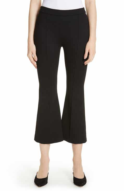 Rosetta Getty Crop Flare Jersey Pants by Rosetta Getty
