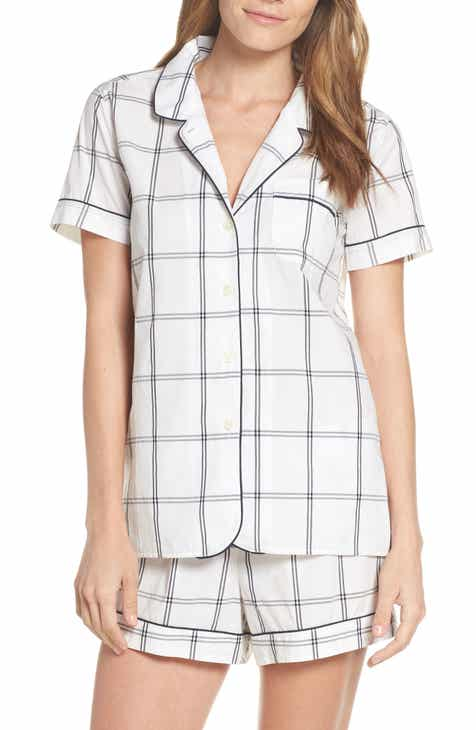 J.Crew Windowpane Plaid Short Pajamas By J.CREW by J.CREW New Design