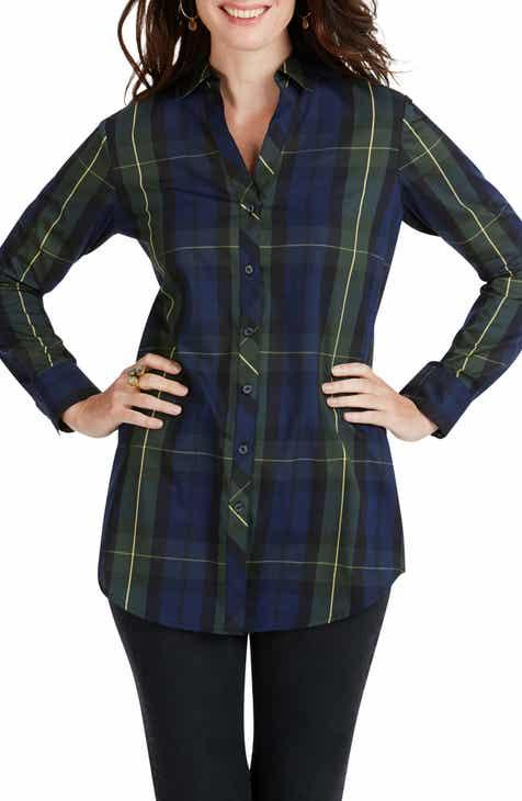 Foxcroft Faith Lenox Tartan Shirt