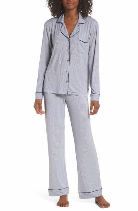8036a5c600 UGG® Lenon Mini Stripe Jersey Pajamas