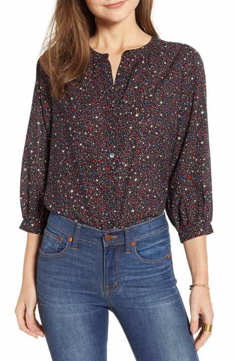 48fadbb6e9 Madewell Starry Night Peasant Top (Regular   Plus Size)