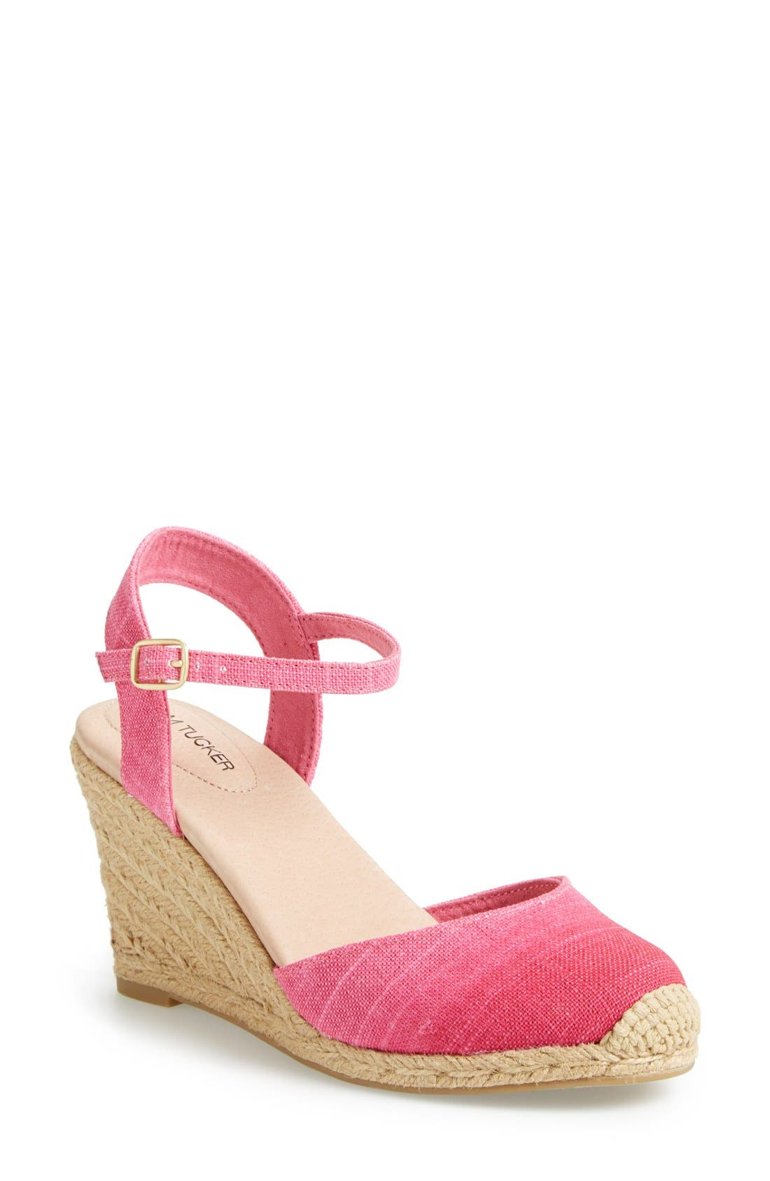 Alternate Image 1 Selected - Adam Tucker by Me Too 'Bethany' Wedge Sandal (Women)