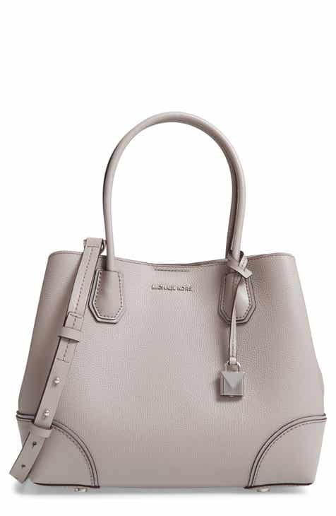 Michael Kors Medium Mercer Gallery Leather Satchel