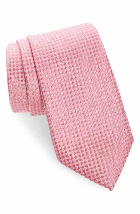 df9b3af0e217 Nordstrom Men's Shop Alana Geometric Silk Tie
