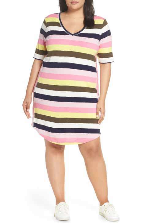 e9978abc79a Caslon® Slub Knit Dress (Plus Size)