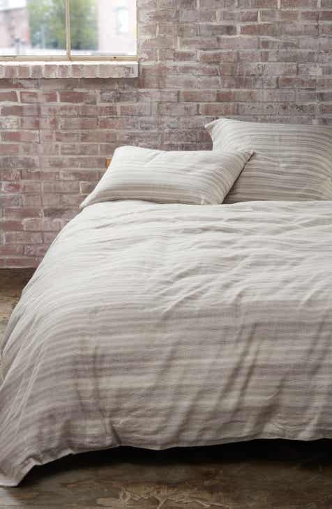 Treasure Bond Sandstone Stripe Duvet Cover