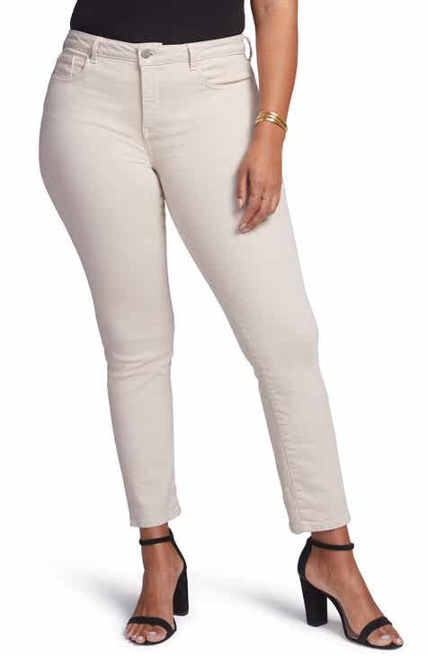 c3c6702f04c Curves 360 by NYDJ Slim Straight Leg Ankle Jeans