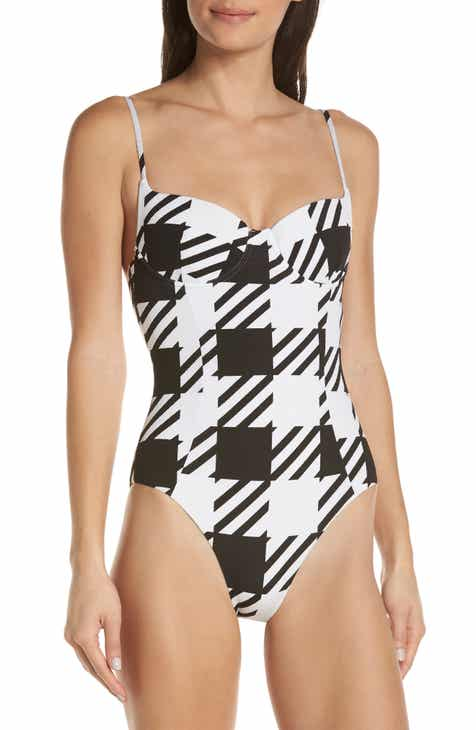 a7d1824807 Onia Check One-Piece Swimsuit
