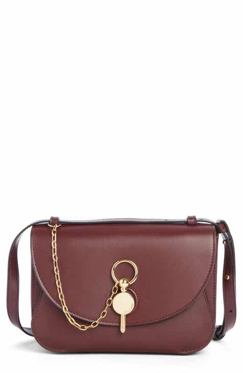 2263dc5f84 J.W. Anderson Lock Leather Convertible Shoulder Bag