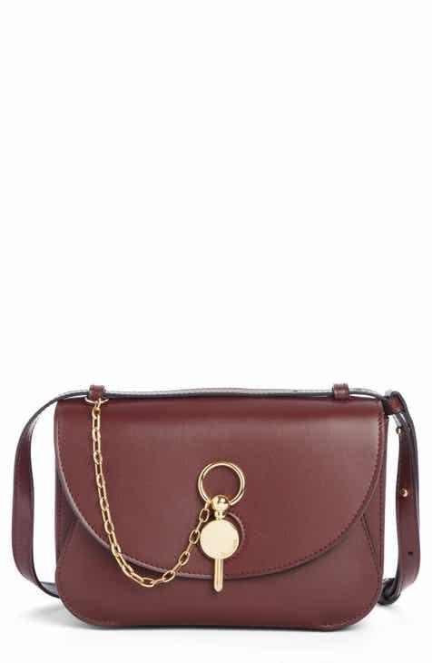 8ef762c257 J.W. Anderson Lock Leather Convertible Shoulder Bag