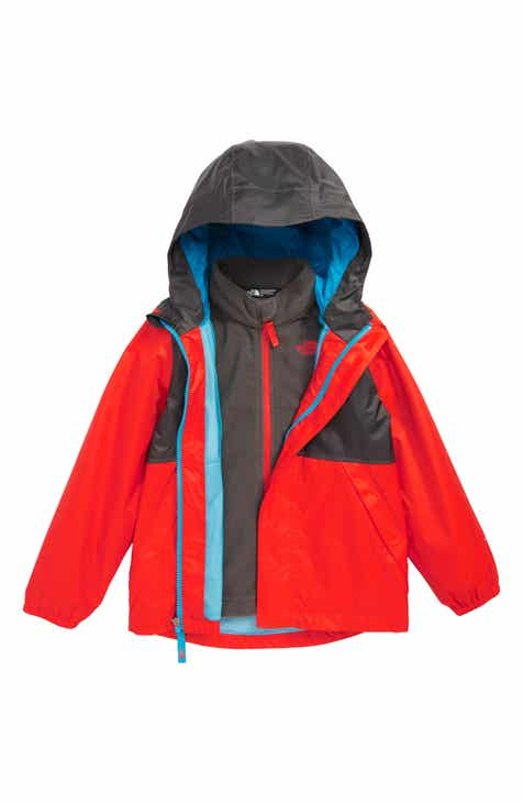 2e8af2ffa28b The North Face Stormy Rain Triclimate® Waterproof 3-in-1 Jacket (Toddler  Boys   Little Boys)