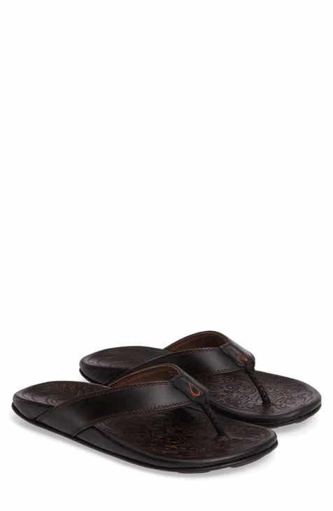 a6ecec376 Black OluKai Sandals   Shoes
