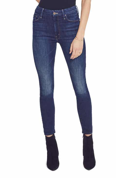 2ce2a00b01a MOTHER The Looker High Waist Ankle Jeans (Up Your Alley)