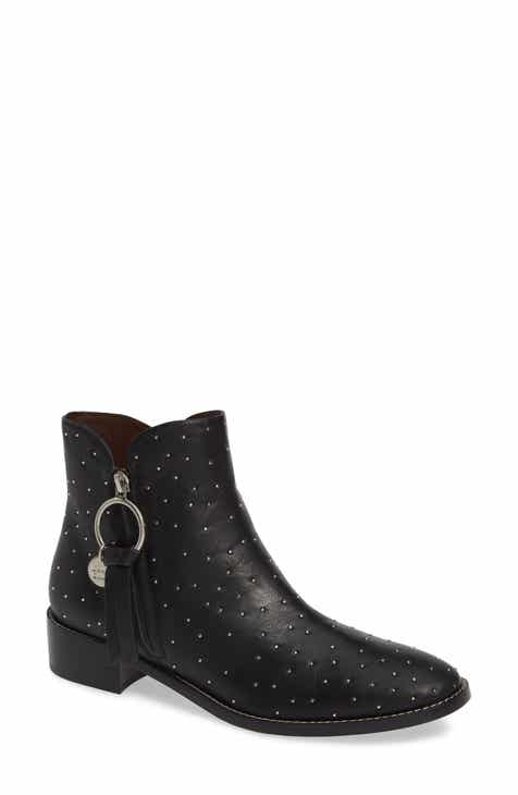 4f38eeee2a7 See by Chloé Louise Studded Bootie (Women)