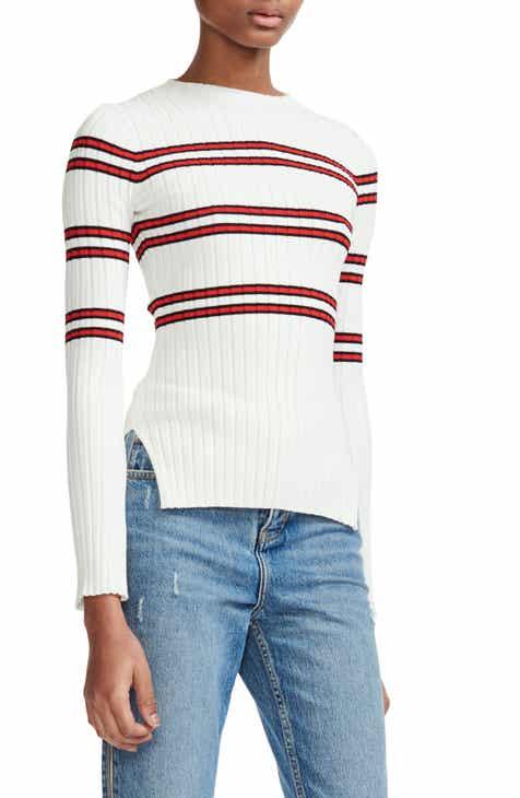 maje Manuel Stripe Sweater by MAJE
