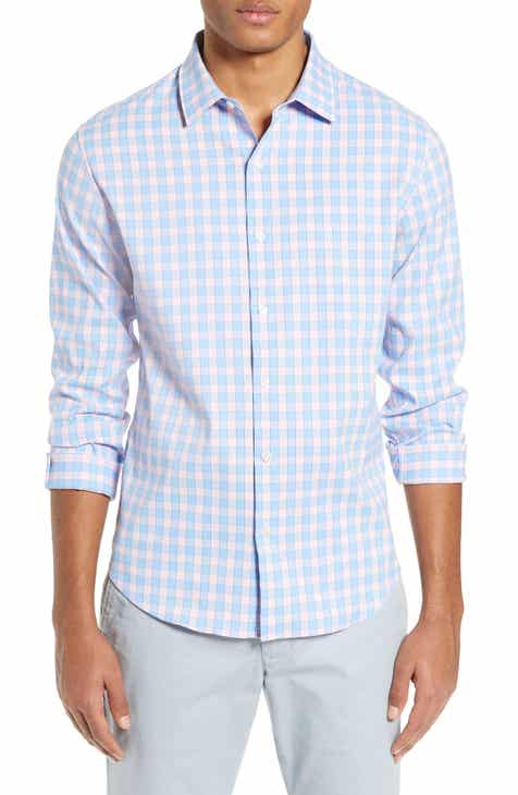 1b521ec270 Bonobos Slim Fit Check Tech Sport Shirt