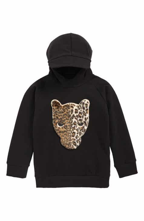 84494b50801 BangBang Copenhagen Leopard Sweatshirt (Toddler Boys