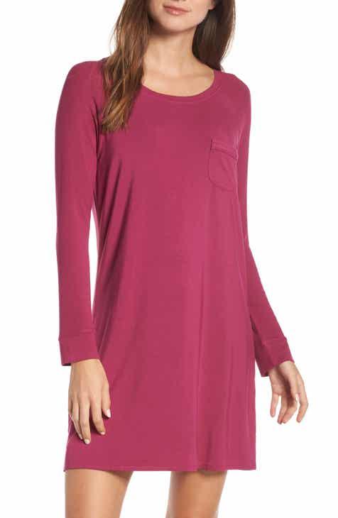 Nordstrom Lingerie Breathe Sleep Shirt 4f9ea7381