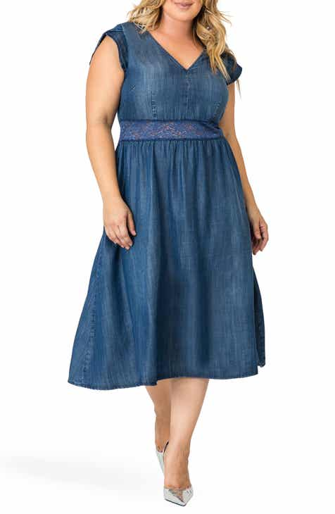 Standards & Practices Rosaleen A-Line Dress (Plus Size)