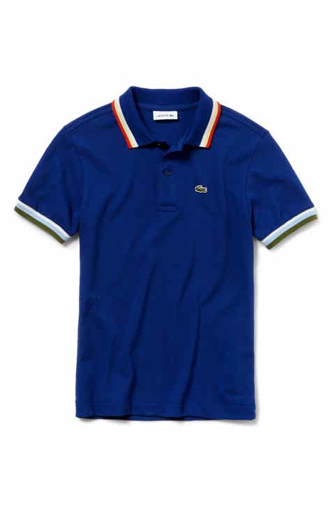 489742e14d04 Lacoste Semi Fancy Piqué Polo (Toddler Boys   Little Boys)