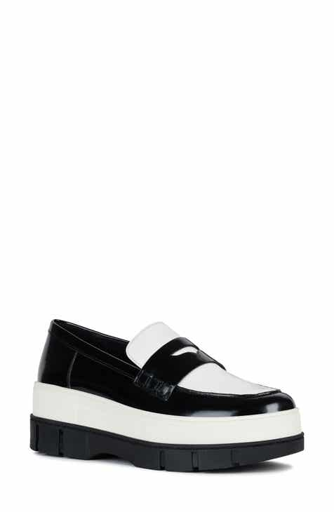 034e24e47d Geox Roose Stacked Platform Loafer (Women)