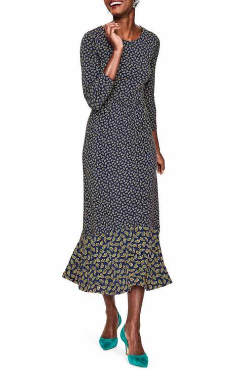 cde1020f7b91 Boden Philippa Jersey Midi Dress (Regular   Petite)