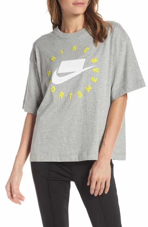 Nike Sportswear Logo Oversize Tee by NIKE