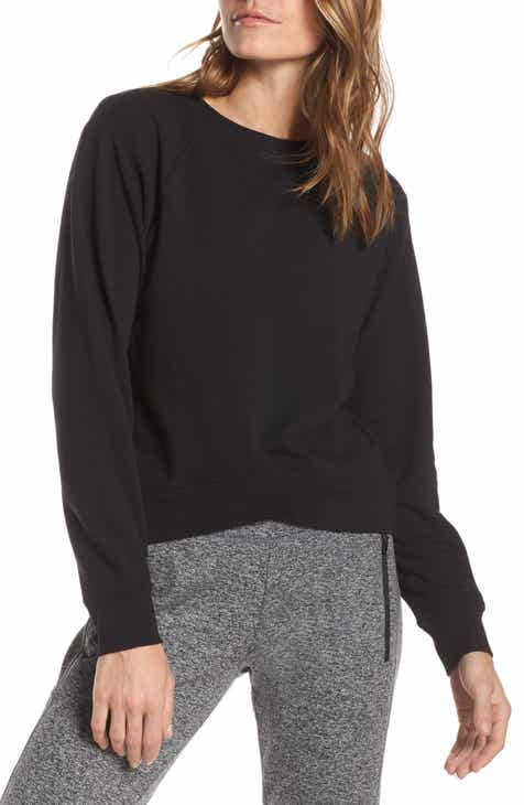 Eberjey Heather Knit Slouchy Tee by EBERJEY