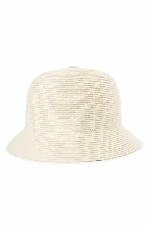 a9479a61013 Brixton Essex Straw Bucket Hat