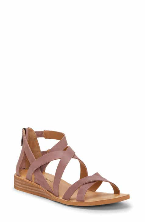 d43279b30d5 Lucky Brand Helenka Strappy Wedge Sandal (Women)