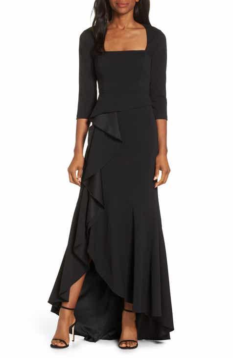 35a4a09f29 Adrianna Papell Cascade Ruffle Evening Dress