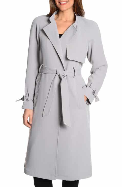 4798becbac5b RACHEL Rachel Roy Luxe Crepe Trench Coat