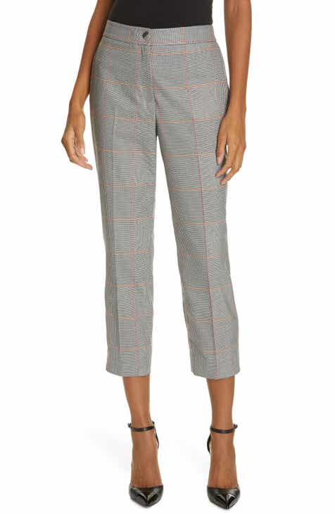 Ted Baker London Plaid Crop Trousers by TED BAKER LONDON