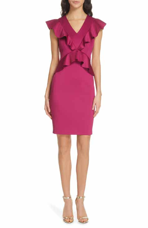 Ted Baker London Alair Ruffle Body-Con Dress by TED BAKER LONDON