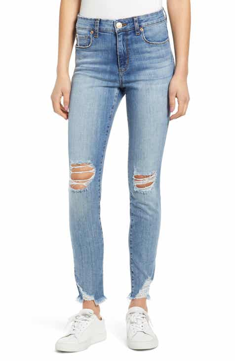 43740dcd02 STS Blue Emma Ripped High Waist Skinny Jeans (North Brownstone)