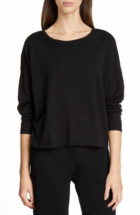 Fendi Lace Trim Mixed Stitch Wool & Cashmere Sweater by FENDI