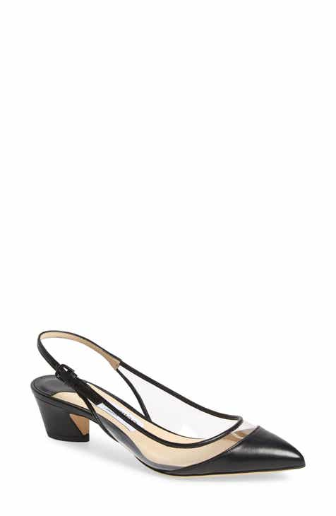 Jimmy Choo Gemma Pointy Toe Slingback Pump (Women) c2054f02c6