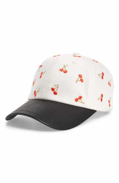 320555f1e3080 SWEAT ACTIVE Embroidered Cherries Baseball Cap