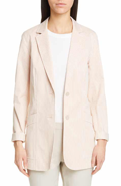 Lafayette 148 New York Boston Stripe Jacket by LAFAYETTE 148