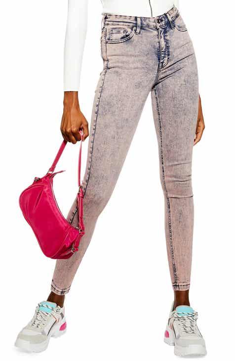 6e5096eb4214 Topshop Jamie Acid Wash Jeans